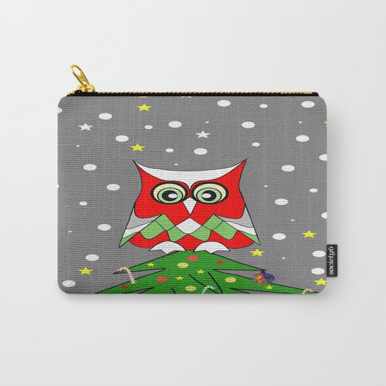 Tree Top Owl Carry-All Pouch