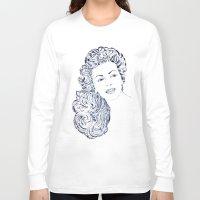 lana Long Sleeve T-shirts featuring Lana by Rabassa