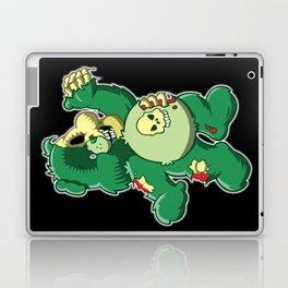 Zombie care bear Laptop & iPad Skin