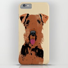 Airedale Terrier Dog Art Slim Case iPhone 6s Plus