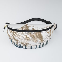mountains 9 Fanny Pack