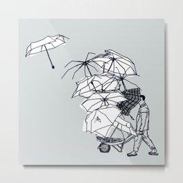 No Couro! Metal Print