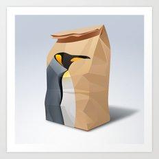 King Penguin Art Print