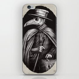 Plague Doctor iPhone Skin