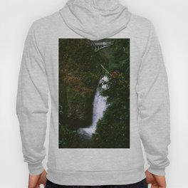 Stream at Multnomah Falls, Oregon Hoody