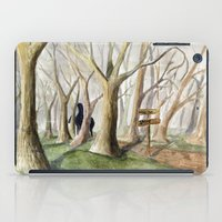 middle earth iPad Cases featuring Middle Earth by Jeff Moser Watercolorist