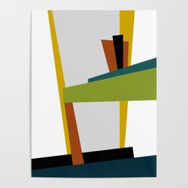 Mid Century Composition 2 Poster