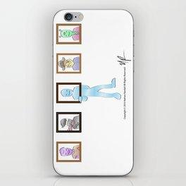 Frame of Mind iPhone Skin