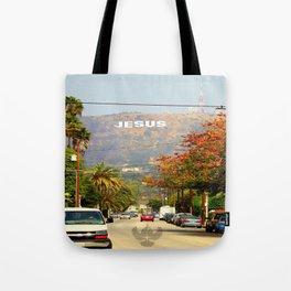 Make Jesus Famous Tote Bag