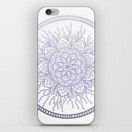 Lavender Nature Mandala iPhone Skin