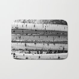 Into the Woods / Black & White Bath Mat