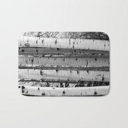 Into the Woods / Black & White Bath Mat