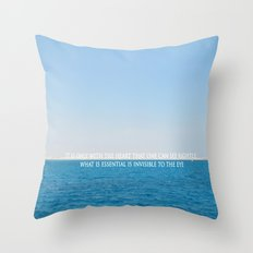 Untitled favorite quote  Throw Pillow