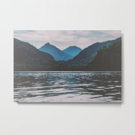 Bannwaldsee, Schwangau  lake in Bavaria Germany Metal Print