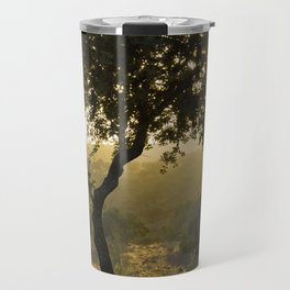 Waiting for Autum Travel Mug