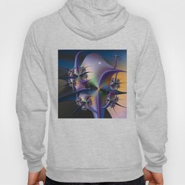 Abstract Upstairs Downstairs Balconies Hoody