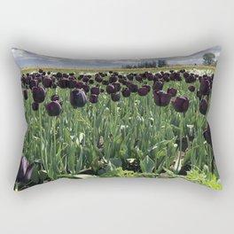 Goth Gardening Rectangular Pillow