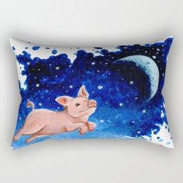 3 Pigs Rectangular Pillow