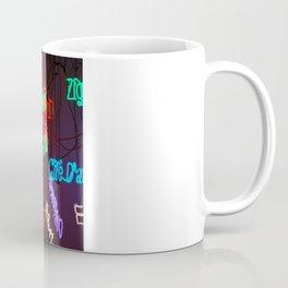 Neons in Paris Coffee Mug
