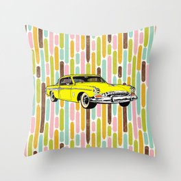 unique car II Throw Pillow