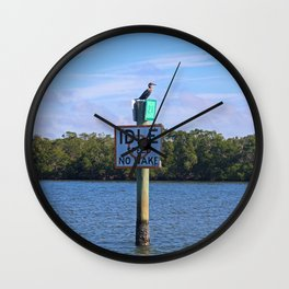 Wake Patrol Wall Clock