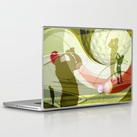 golf Laptop & iPad Skins featuring Golf by Robin Curtiss