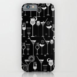 Retro Vintage Cocktail Pattern 3 iPhone Case