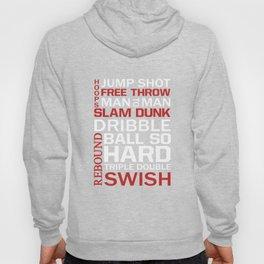 Basketball Descriptive Funny Sports Vintage T-shirt Hoody