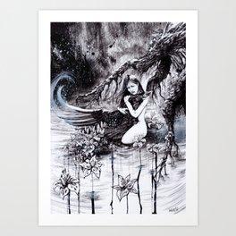Dream's End Art Print