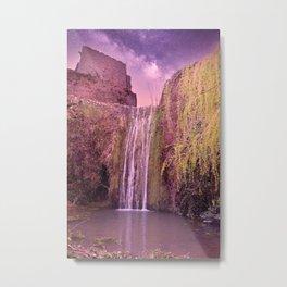 Waterfall at Saint-Guilhem-le-Désert Metal Print