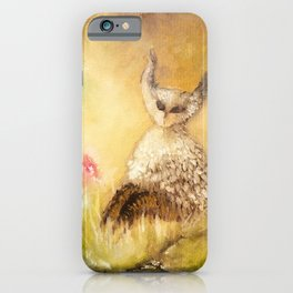 owl transformation iPhone Case