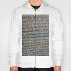Handwriting on the Wall Hoody