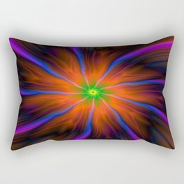 Flares and Streamers Rectangular Pillow