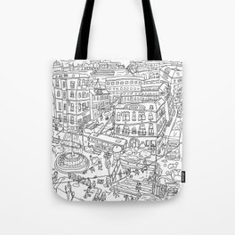 Budapest X Tote Bag