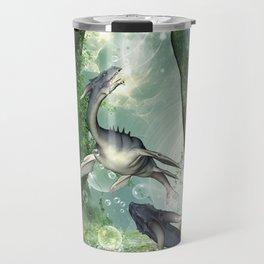 Awesome seadragon Travel Mug
