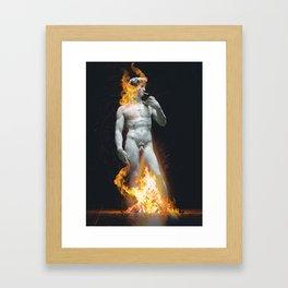 Unbothered Framed Art Print