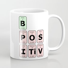 Be Positive Coffee Mug