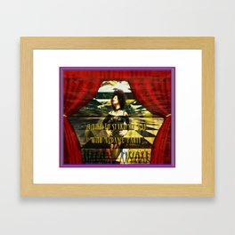 I Start My Day With A Dance Party Framed Art Print