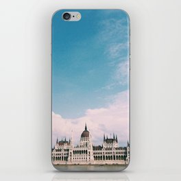 Budapest Skies iPhone Skin