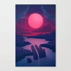 Here Comes the Flood Canvas Print