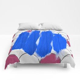 Blu Imperfection Comforters