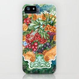 Art nouveau. Mors drink. iPhone Case
