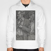 true detective Hoodies featuring True Detective  by Dave Roberts Art