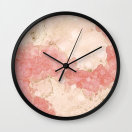 Agate In Solution Wall Clock