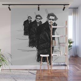 DEEP DEPP Wall Mural