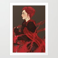 knight Art Prints featuring Knight. by Noble Demons