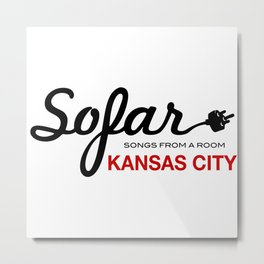 Sofar Sounds KC Metal Print