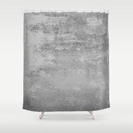 Simply Concrete Shower Curtain