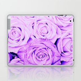 Some people grumble - Floral Ultra Violet Rose Roses Flowers Laptop & iPad Skin