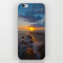 Hurricane Sunset iPhone Skin